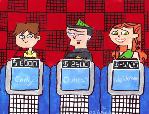 Cartoon Characters Jeopardy : Total drama jeopardy by djgames on deviantart