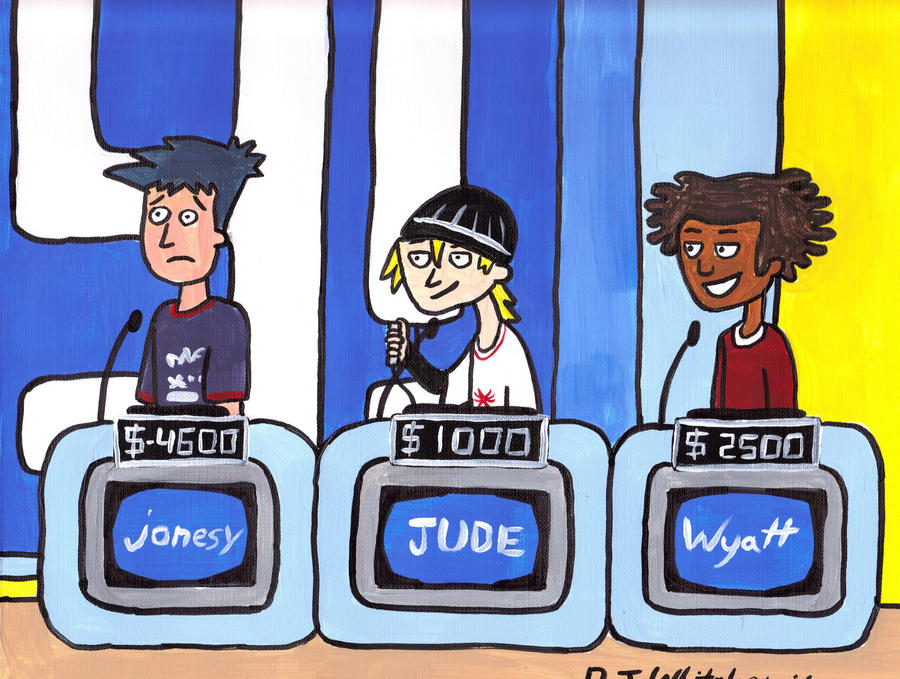 Cartoon Characters Jeopardy : Teen boys on jeopardy by djgames deviantart