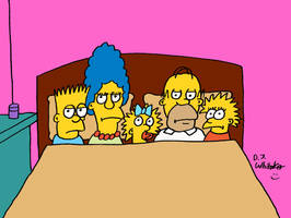 Good Night Simpsons by DJgames