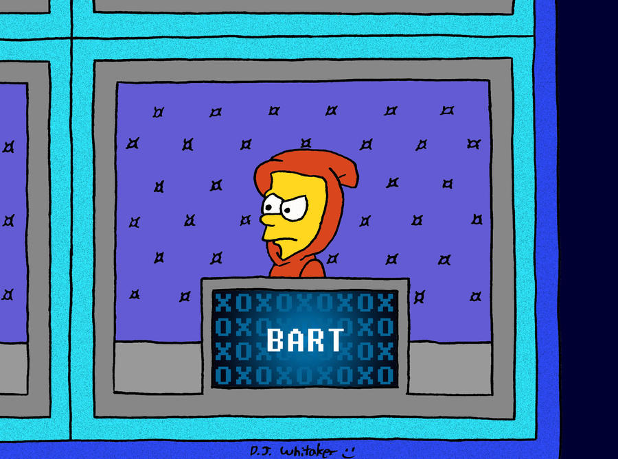 Bart on Hip Hop Squares by DJgames