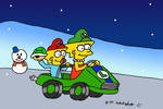 Lisa and Maggie Double Dash by DJgames