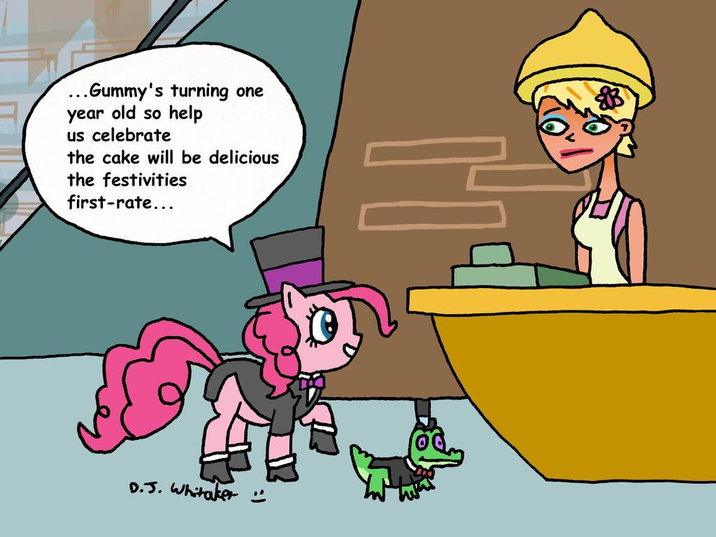 Pinkie Pie's Telegram II by DJgames