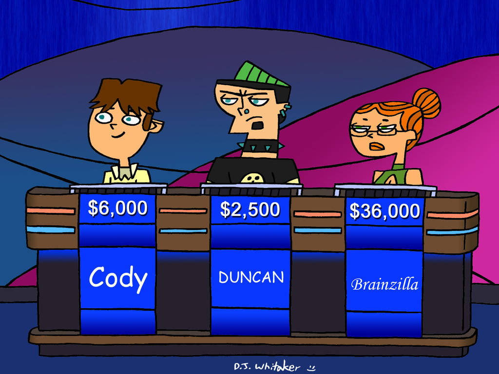 total drama jeopardy revisited by djgames on deviantart
