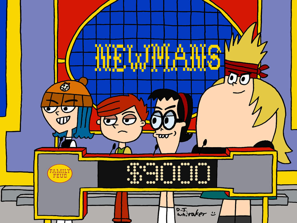 Cartoon Characters Jeopardy : The newmans on family feud by djgames deviantart