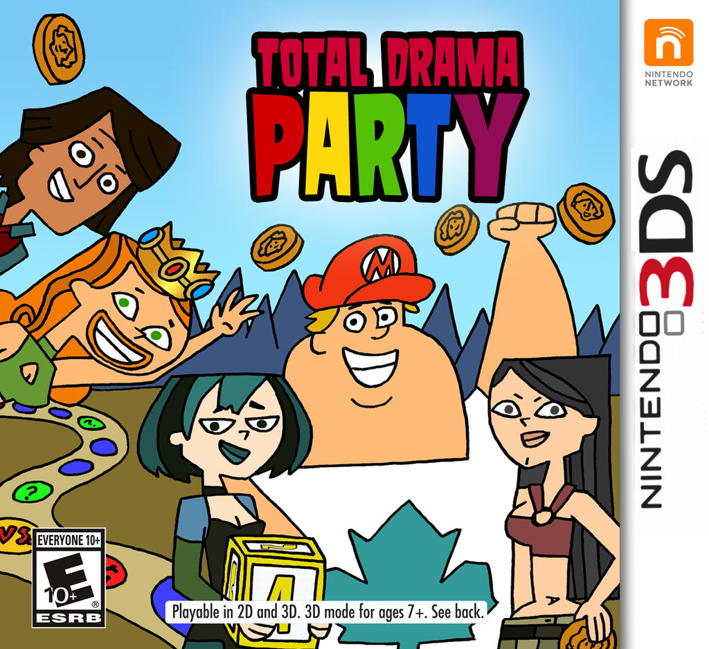 Total drama party on 3ds by djgames on deviantart - Djgames deviantart ...