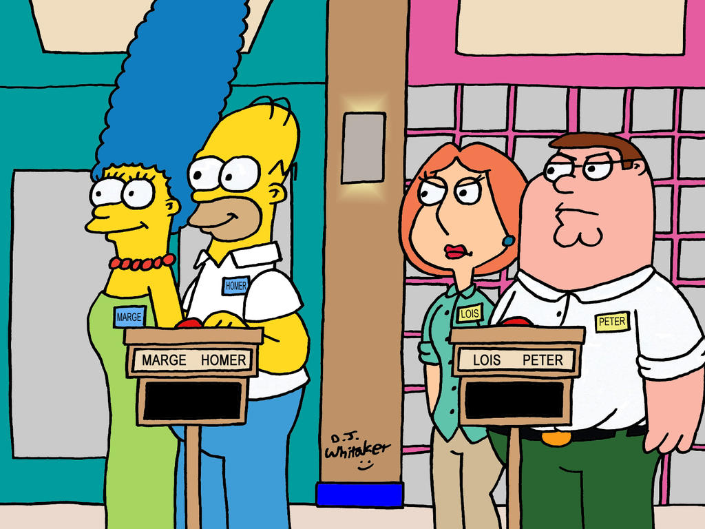 Lois Griffin vs Marge Simpson