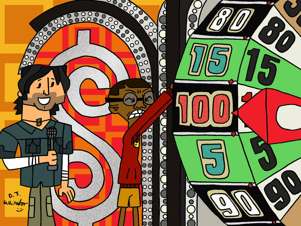 cameron spins the wheel by djgames on deviantart