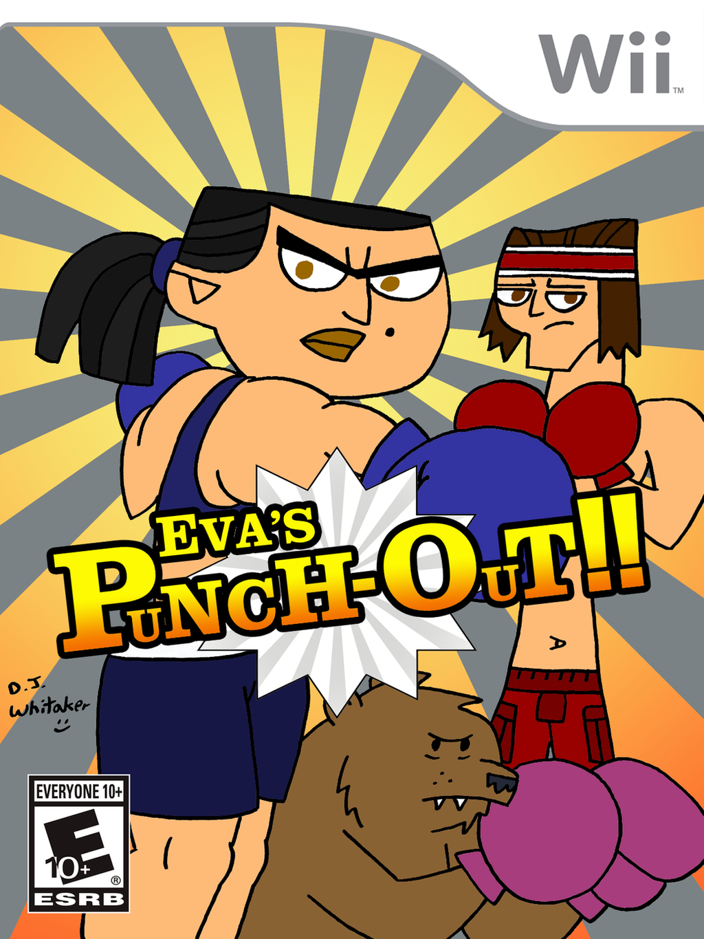 Eva 39 s punch out on wii by djgames on deviantart for What is a punch out list