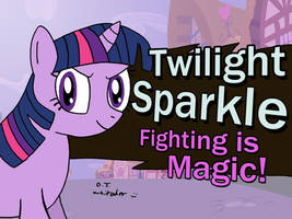 Twilight Joins the Battle by DJgames