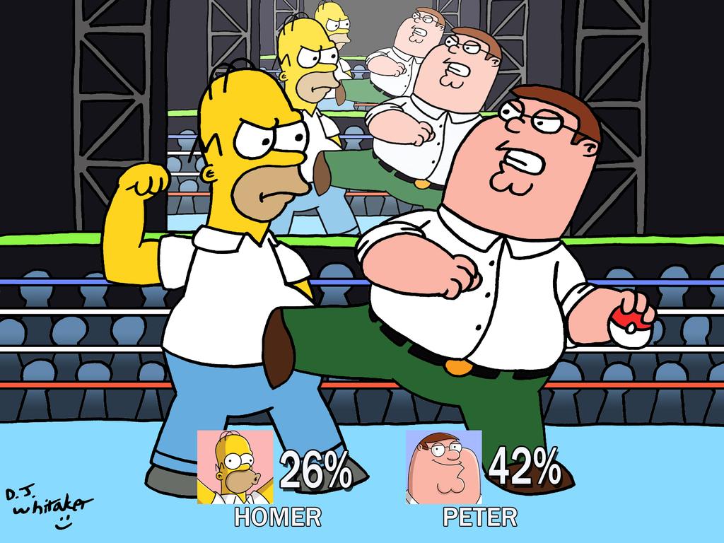 Homer vs Peter on Smash by DJgames