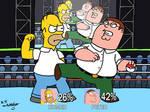 Homer vs Peter on Smash