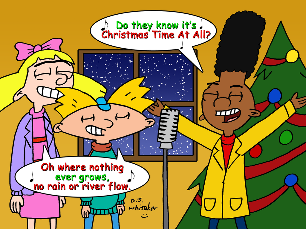 Hey Arnold singing Christmas Time by DJgames on DeviantArt