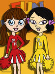 Blythe and Youngmee Fun House Cheerleaders