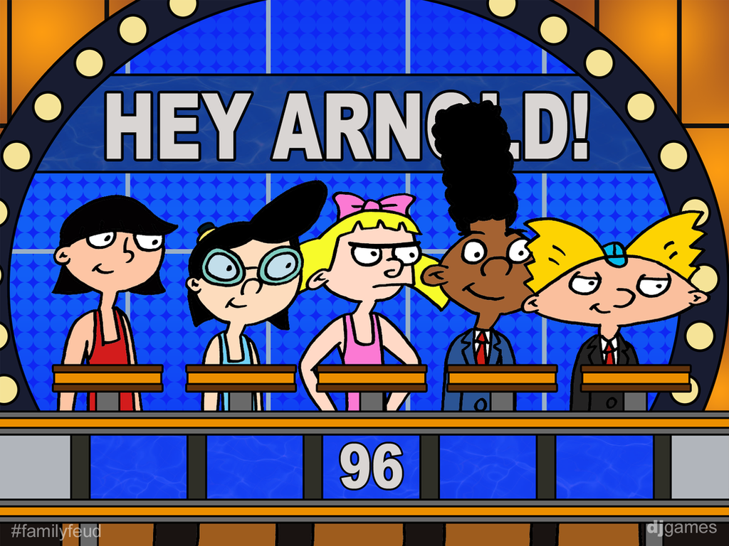 Hey arnold on feud by djgames on deviantart - Djgames deviantart ...