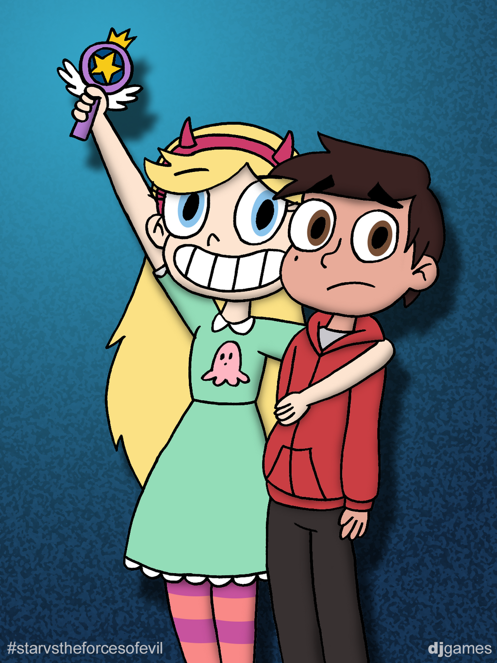 Star and marco by djgames on deviantart - Djgames deviantart ...