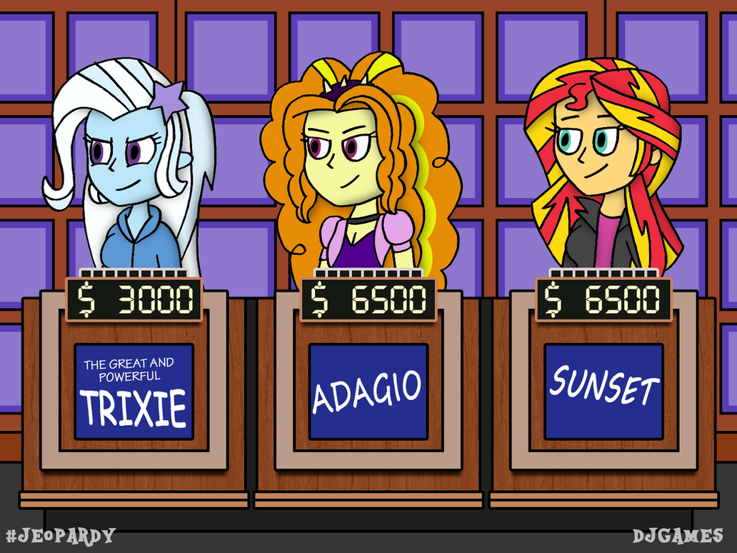 Equestria on jeopardy request by djgames on deviantart - Djgames deviantart ...