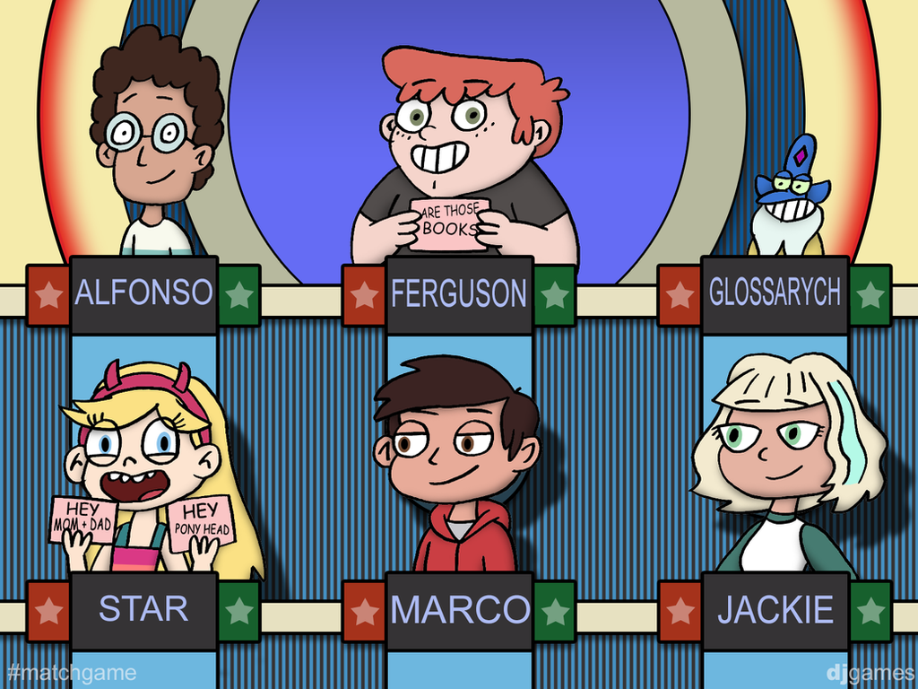 Star and her gang on match game by djgames on deviantart - Djgames deviantart ...