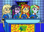Equestria on Double Dare