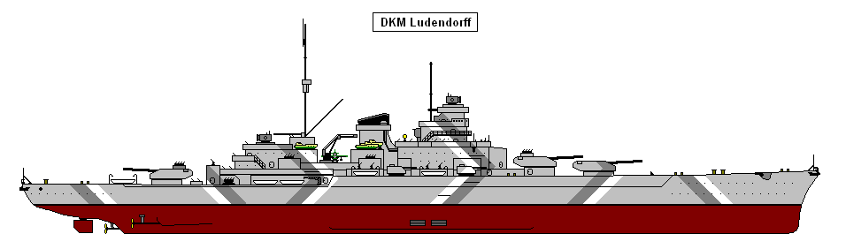 DKM Ludendorff colour by Dawley