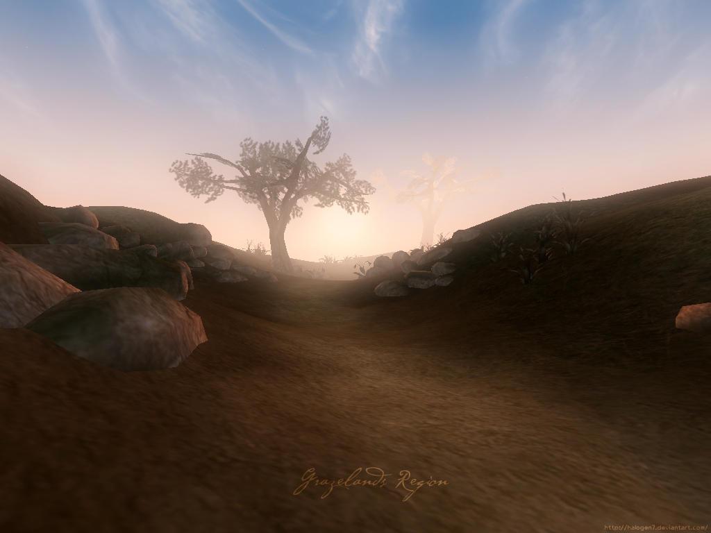 Morrowind: Grazelands Region by halogen7