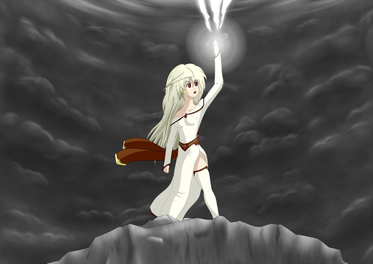 Mistress of Thunder by Dumdodoor