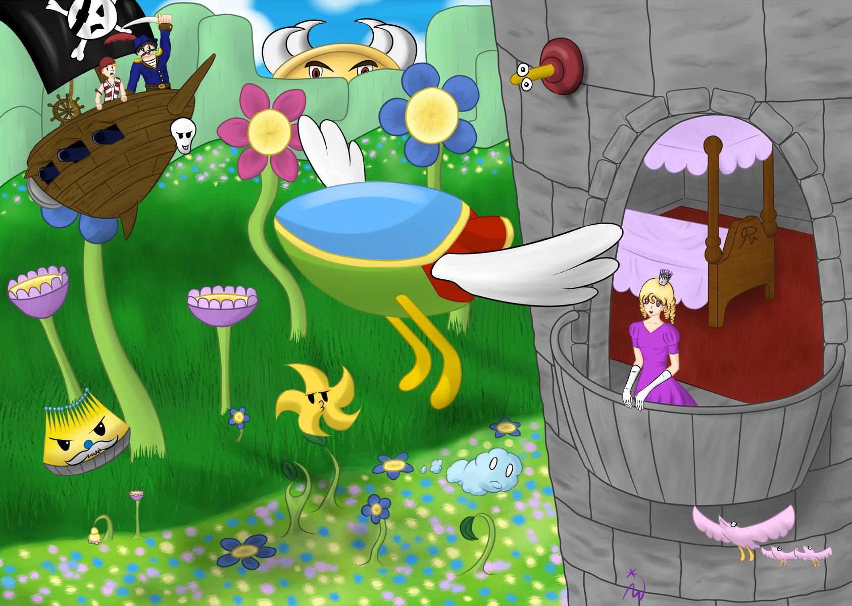 Fantasy Zone: Return to Fantasy Zone by Dumdodoor