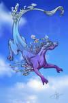 Sky dragon - kick my own ass