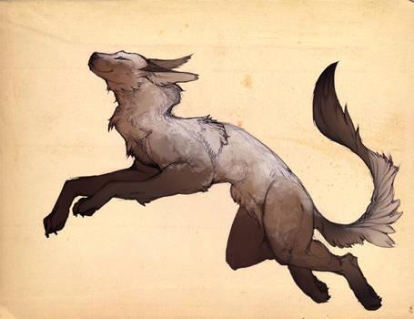 Canine creature