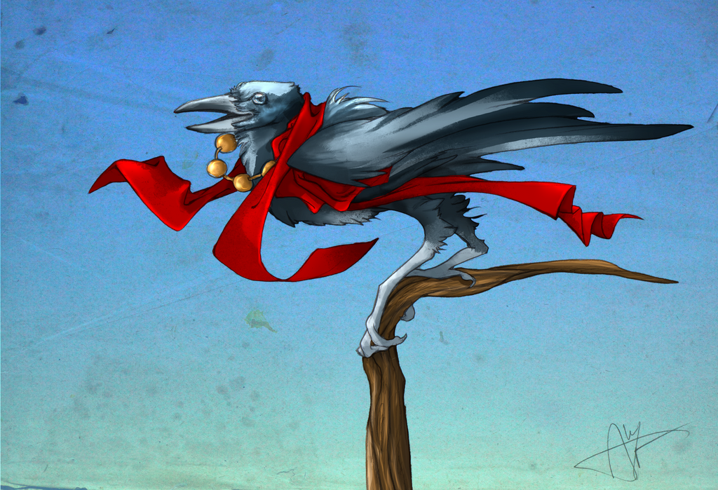 Cheeky Tengu by cursed-sight