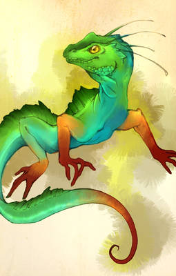 Lizard dragon