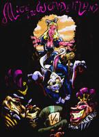 Alice in Wonderland by teague