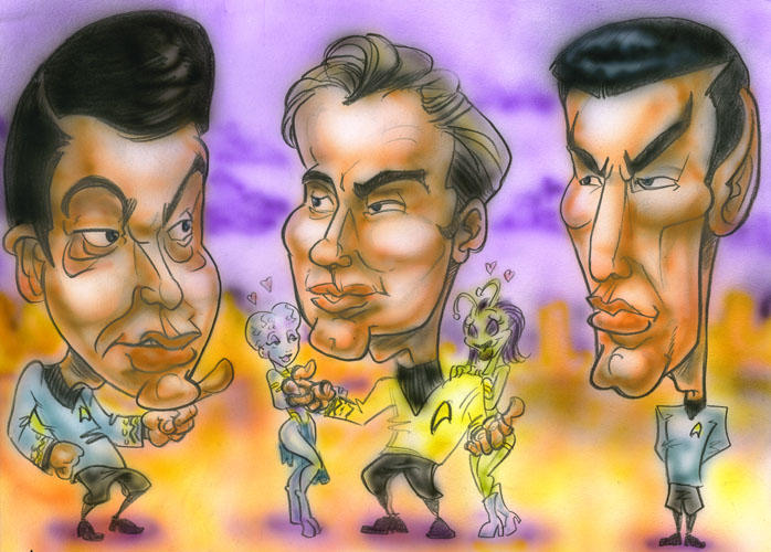 Caricature - Landing Party by teague