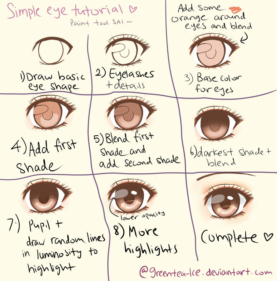 Astrea Lin: Manga eye coloring tutorial + Seraph of the