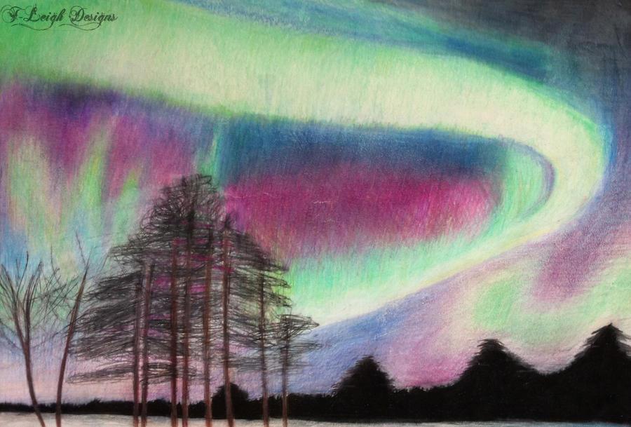 Aurora Borealis by twilson390