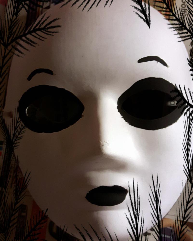 Masky mask by LuminaraUnduli