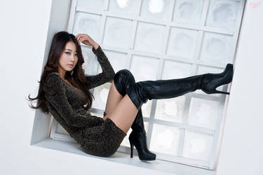 Thigh High Boots by ParkLeggyKorean