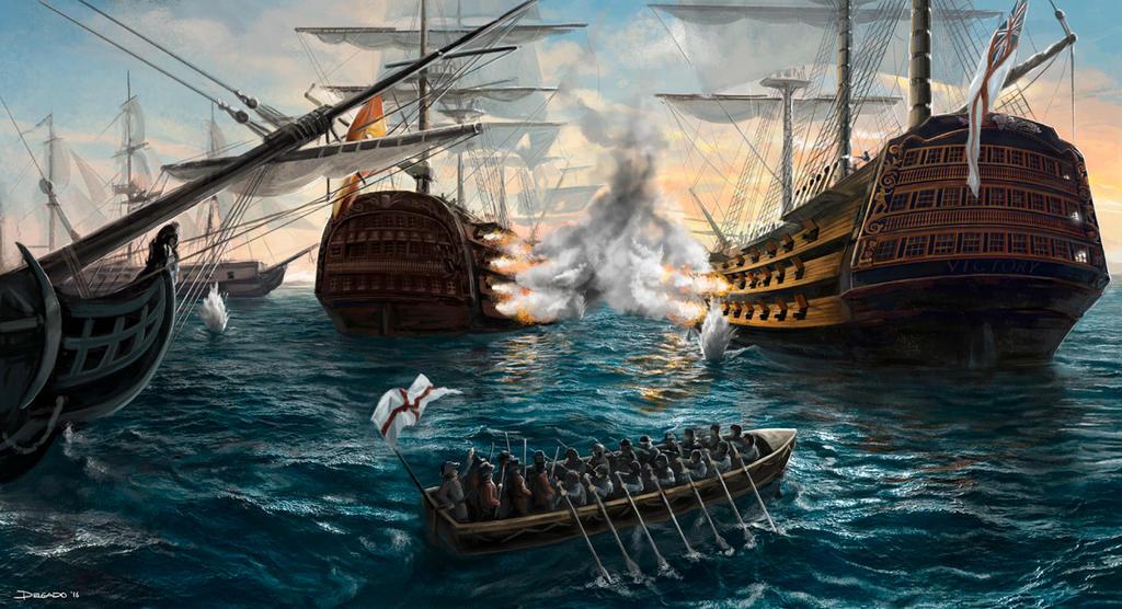 Trafalgar 1805 by JD10M