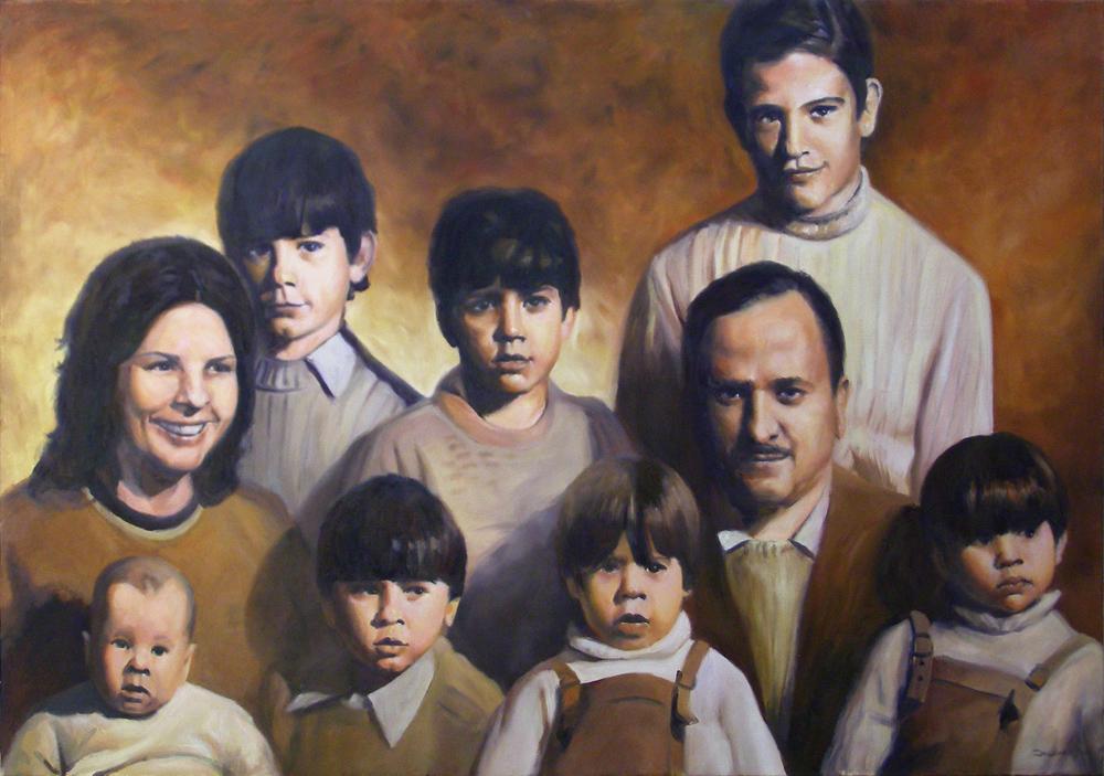 FAMILY PORTRAIT  /  retrato de familia by JD10M