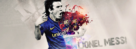 Messi Sign by AHDesigner
