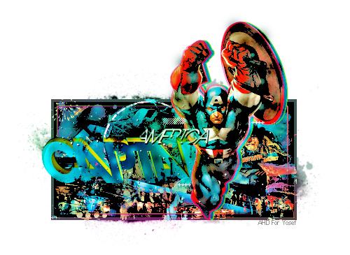 Captain America by AHDesigner