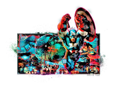 Captain AmericaV2 by AHDesigner