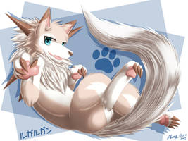 Midday Lycanroc's Paw by AKamihara