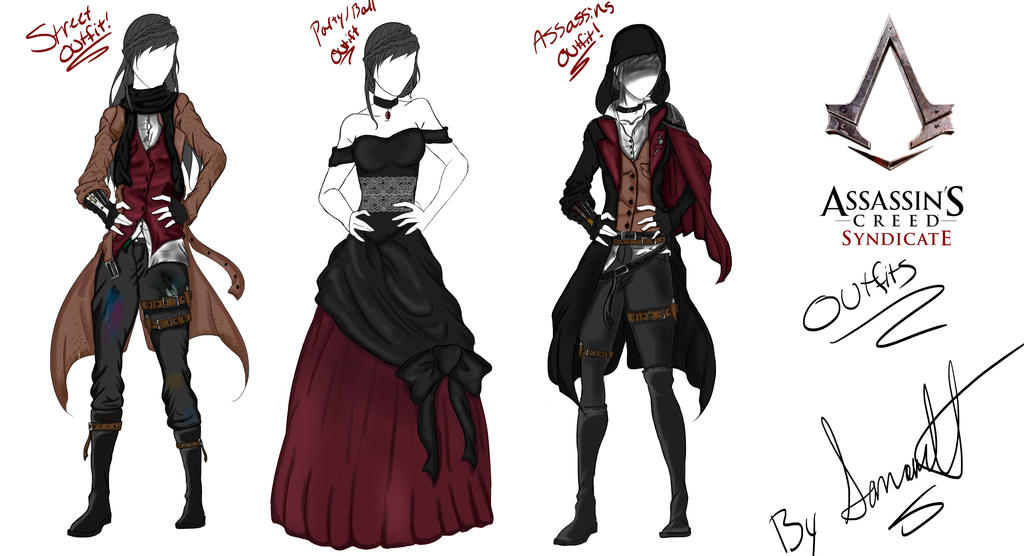 Assassins Creed Syndicate Outfits By Samanthaivysmith On Deviantart