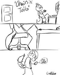 Page 2: Chairs 'n' Tails by MillaAndWilly