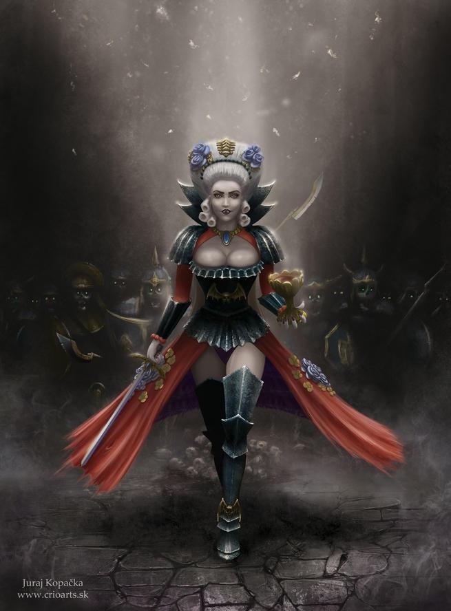 Vampire Countess by CrioArts on DeviantArt