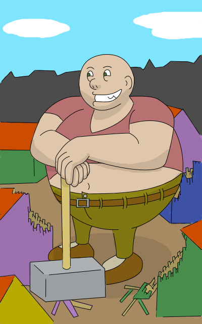 Bjorn the big by privateCancer