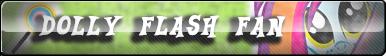 Dolly Flash fan button by Snowcat93