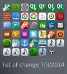list of change 7/3/2014