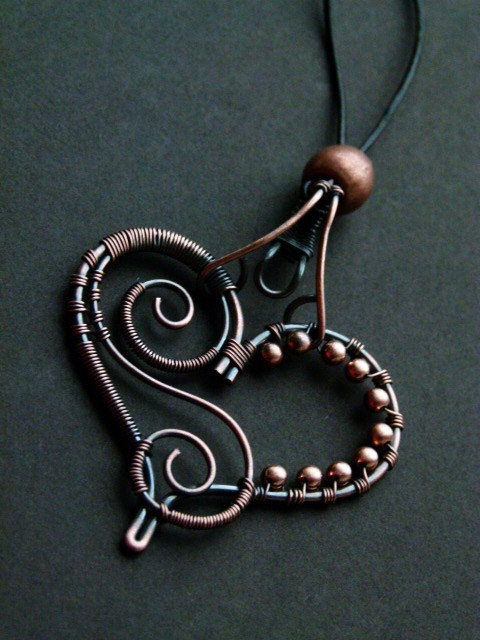 Heart Pendant by SilverDeFactory