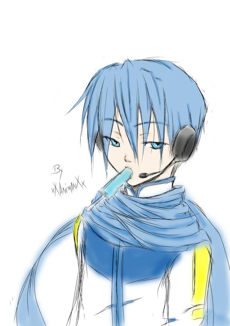 Vocaloid Kaito by xXAnimanXx